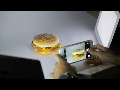 How to Photograph a Fast Food Ad with an iPhone