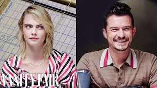Cara Delevingne and Orlando Bloom Take a Lie Detector Test  | Vanity Fair
