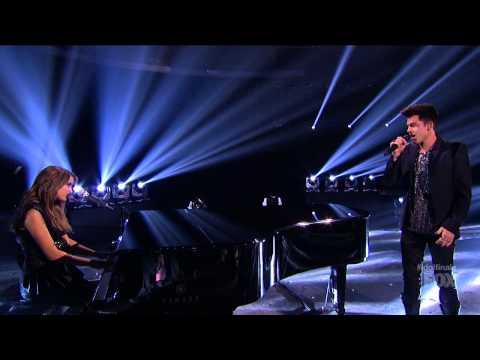 Adam Lambert feat. Angie Miller - Titanium
