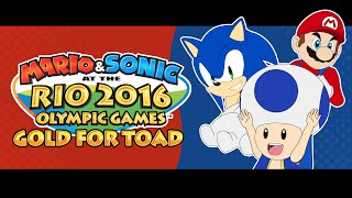 Mario & Sonic at the Rio Olympic Games - Gold For Toad