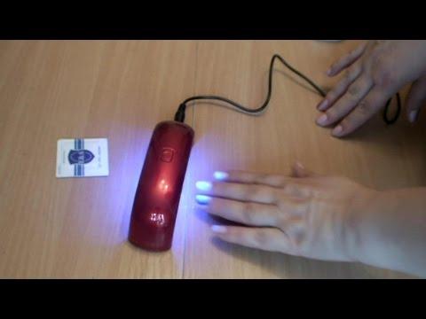 Гель лак в домашних условиях с лампой 9 ватт