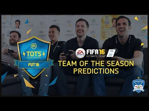 FIFA 16 WITH CESC FABREGAS & DELE ALLI! TOTS PREDICTIONS!