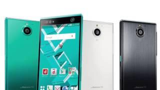 Fujitsu Arrows NX F-04G- первый в мире смартфон со сканером оболочки  глаза.