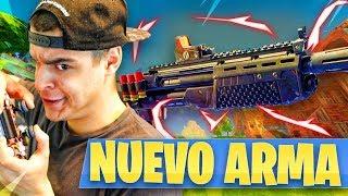 JUGANDO con *NUEVA ESCOPETA LEGENDARIA* en FORTNITE! [NUEVO ARMA en Battle Royale] - AlphaSniper97