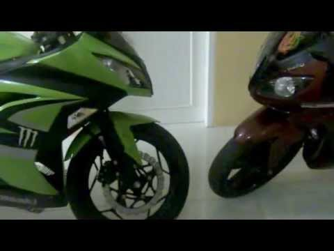 Yamaha Vixion 2010 fairing ala R6 & Kawasaki Ninja FI 2013