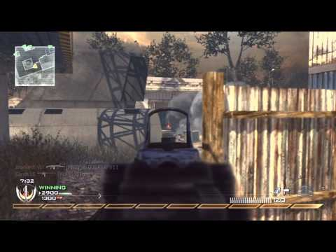 Modern Warfare 2 - Team Deathmatch - SCAR-H Gameplay Video
