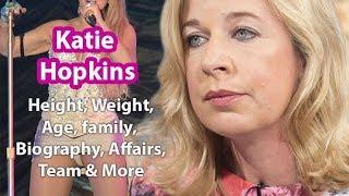 Katie Hopkins Height Weight Measurements Age Boyfriend Net Worth