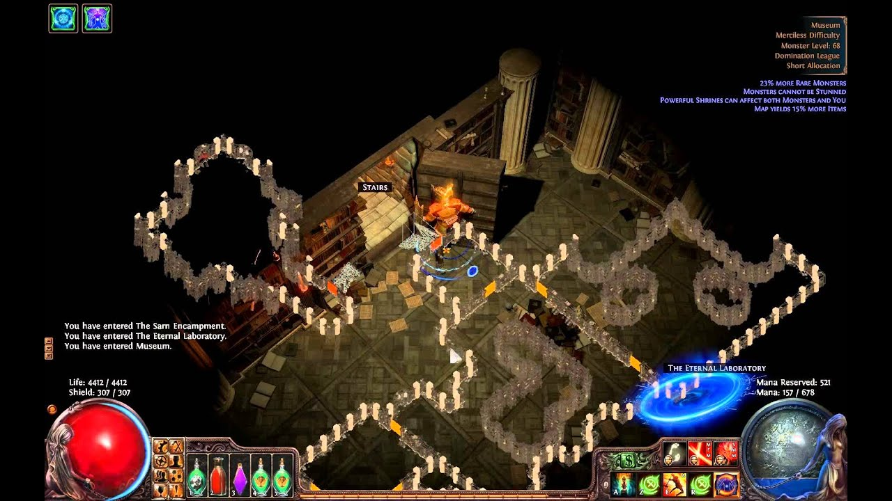path of exile map guide