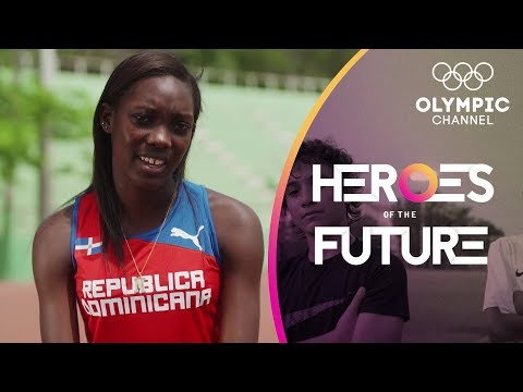 Upcoming Sprinter Durán wants gold for Dominican Republic | Heroes of the Future