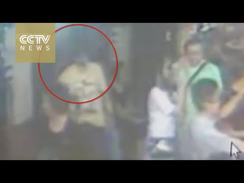 Suspect of deadly Bangkok blast attack spotted by on security camera