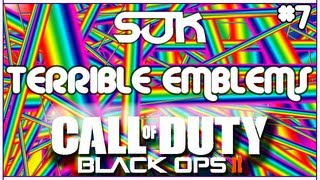 Terrible Emblems #7 (Funny Black Ops 2 Emblem Fails)