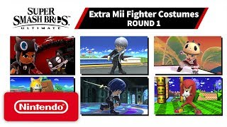 Super Smash Bros. Ultimate - Mii Fighter Costumes #1 - Nintendo Switch