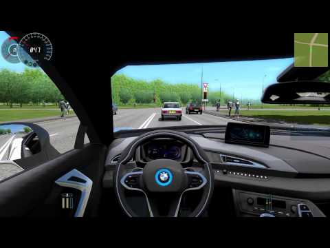 #070 Let's Play City Car Driving - BMW i8 [Deutsch] [Full-HD]
