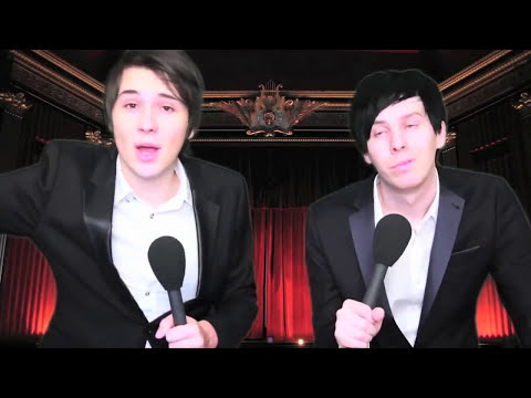 Dan and Phil - The Internet Awards 2012!