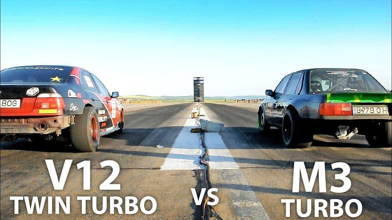 Bmw V10 Twin Turbo Bmw E39 V12 Twin Turbo vs Bmw