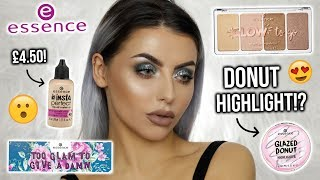 TESTING NEW ESSENCE MAKEUP! FIRST IMPRESSIONS, REVIEW + TUTORIAL!