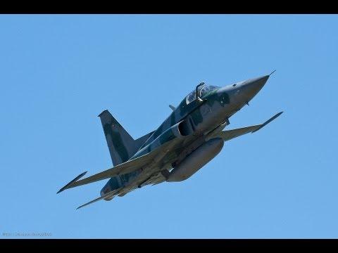 Acidente com o caça F-5 da FAB - Capitão Naumann