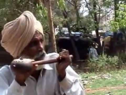 A Punjabi Folk Singer Kartarpur India