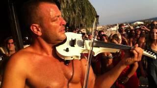 Micah the Violinist & Marcello Marchitto live @ satrinxa sep.2012 Part 3