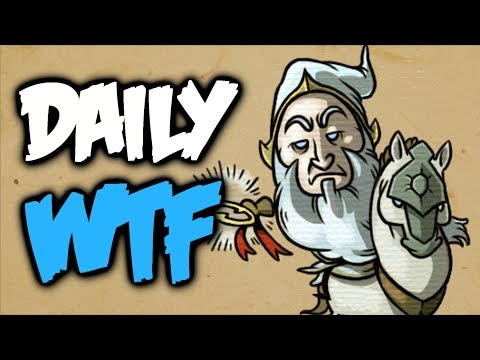 Dota 2 Daily WTF - No one wanted to believe