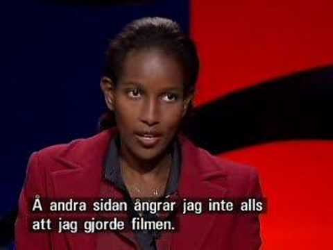Ayaan Hirsi Ali Interviewed On Swedish Television