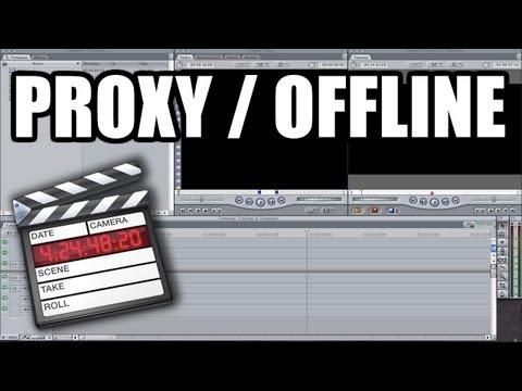 Final Cut Pro 7 - #23: Archivos proxy