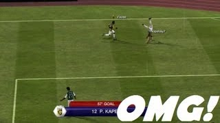 EPIC FIFA Impossible Angle GOAL! *MUST WATCH*