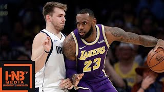 Los Angeles Lakers vs Dallas Mavericks Full Game Highlights | 10.31.2018, NBA Season