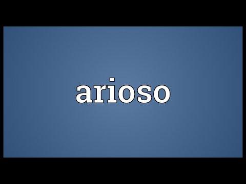 Header of arioso
