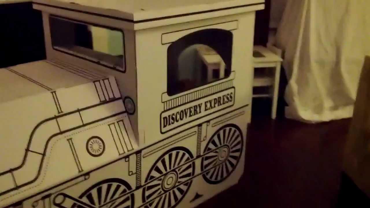 Cardboard Train Cardboard Train 12/25/12