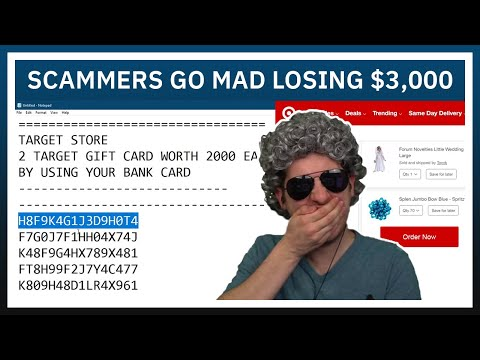 Scammers Go Mad While Losing $3,000 In Gift Cards