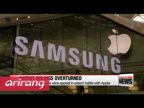 Samsung Electronics wins appeal in patent battle with Apple