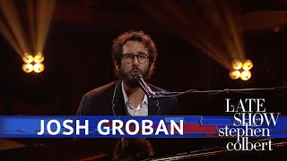Josh Groban Performs