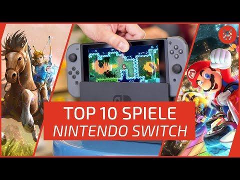 TOP 10 NINTENDO SWITCH Games - Die besten Spiele