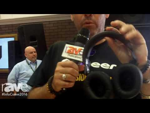 InfoComm 2016: Pioneer Reveals Its HRM-6 Headphones