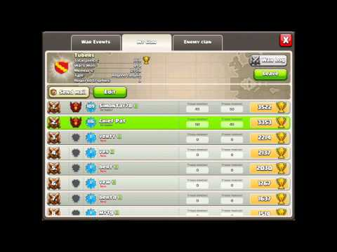 Clash of Clans - Clan Wars: Matchmaking