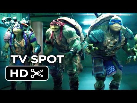 Teenage Mutant Ninja Turtles TV SPOT - MC Mikey (2014) - Live-Action Ninja Turtle Movie HD
