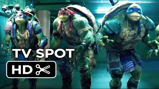 Teenage Mutant Ninja Turtles TV SPOT - Cowabunga (2014) - Live-Action Ninja Turtle Movie HD