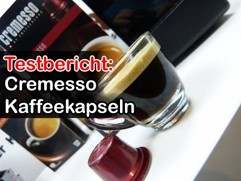Cremesso / Delizio Kaffeekapseln im Test (Zubereitung Espresso / Cafe Crema)