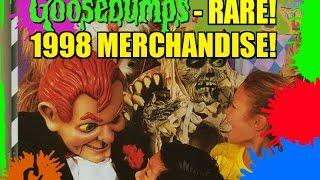 Goosebumps - RARE 1998 Merchandise!