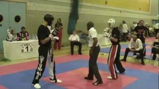 Darren Richardson Kickboxing Cimac World Cup 2011