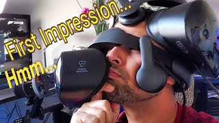 Samsung Odyssey + Unboxing and Initial Impressions