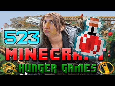 Minecraft: Hunger Games w Mitch Game 523 HOW TO BE SUPER STRONG