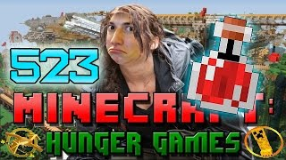 Minecraft: Hunger Games w/Mitch! Game 523 - HOW TO BE SUPER STRONG!