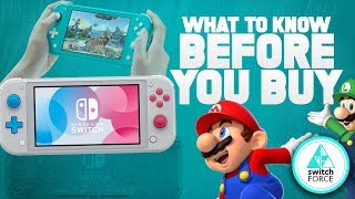 7 Things You NEED to Know About Nintendo's NEW Switch Lite!