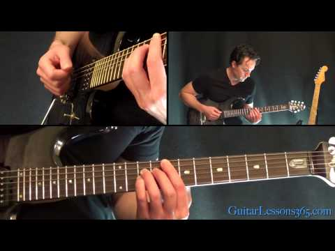 Lesson Guitar - Michael Straight Hammer On And On