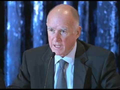 Governor Elect Jerry Brown's California Budget Meeting at UCLA