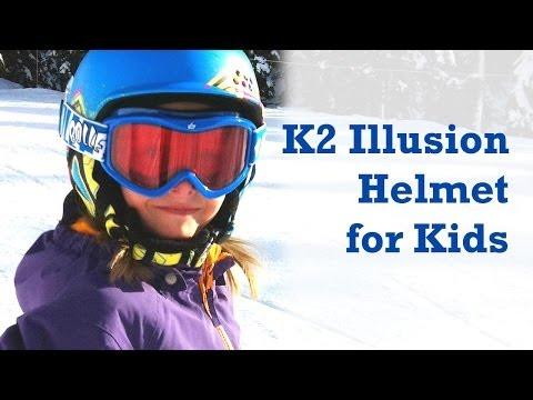 K2 Illusion Helmet - Super lightweight snowsport protection for kids