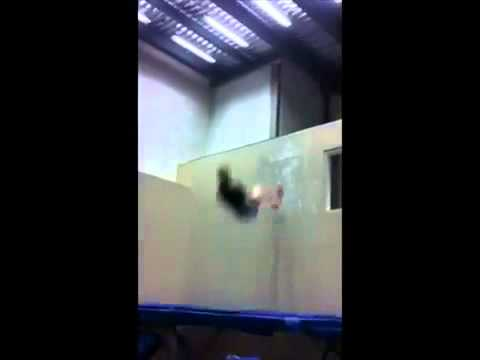 Insane Trampoline Wall Tricks