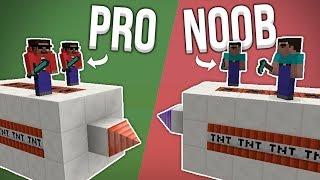 2 NOOBS VS 2 PROS SUR DES MISSILES ! - MISSILE WARS